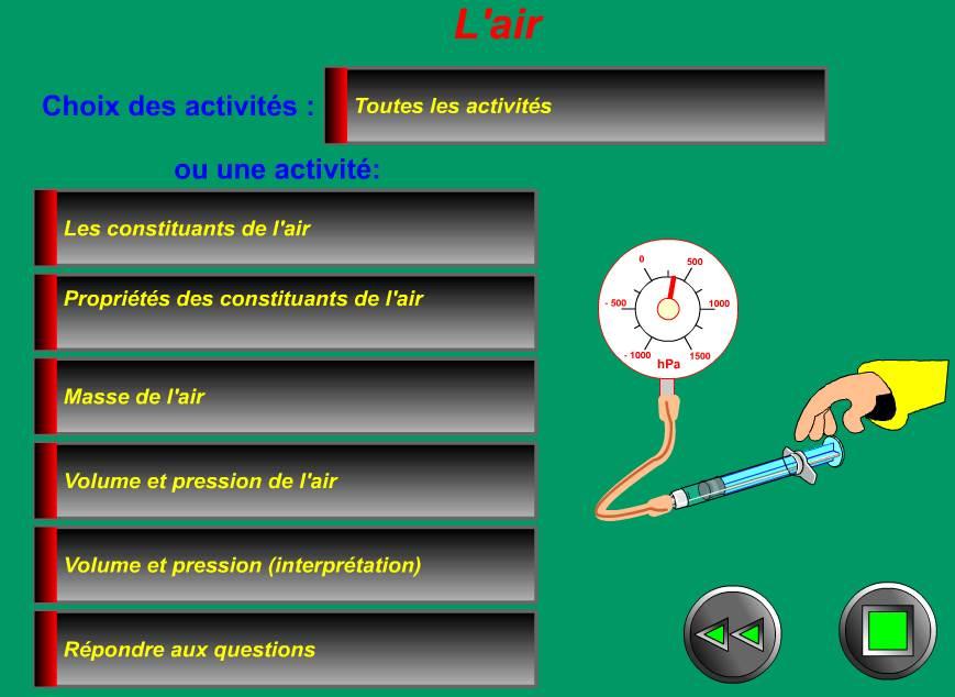 ميدان المادة و تحولاتها  Tout-savoir-sur-l-air