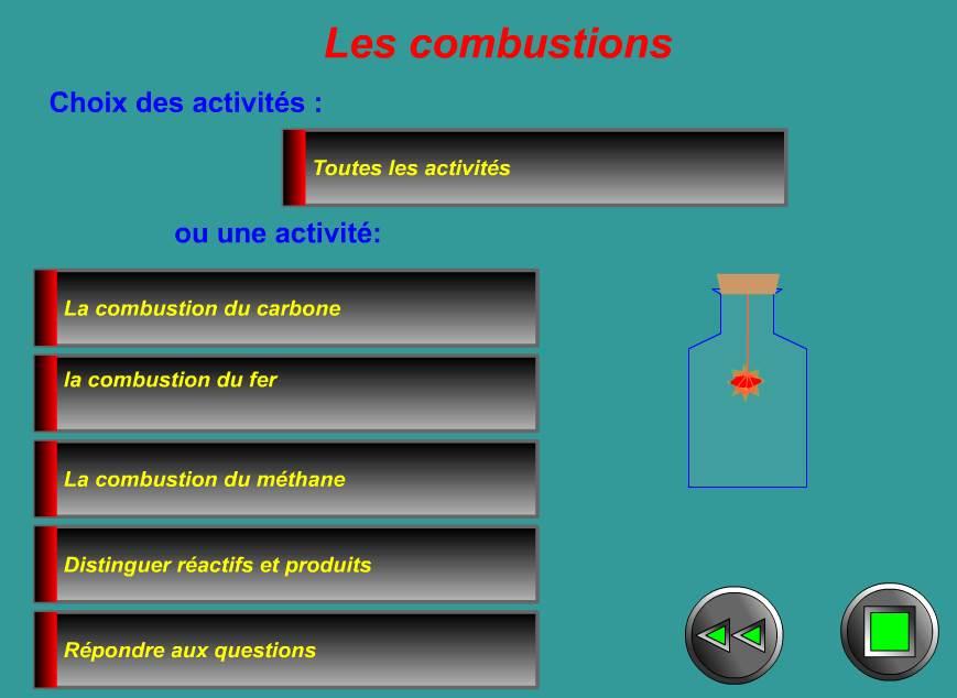ميدان المادة و تحولاتها  Tout-sur-les-combustions